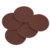 SSD01 Sealey Sanding Disc Ø125mm 80Grit Adhesive Backed Pack of 5 Sanding