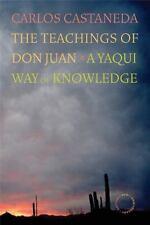THE TEACHINGS OF DON JUAN - CARLOS CASTANEDA - PAPERBACK - 40TH ANNIVERSARY