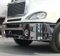 """Freightliner Columbia & Century 98-2007 18"""" Chrome Bumper With Brackets"""