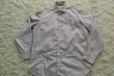 Burberry London  Button Down Shirt  Size 16.5-42 Brand new Brown