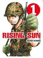 Manga Rising Sun Tome 1 Seinen Satoshi Fujiwara VF Komikku Spirit Of The Guerre