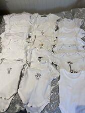 Newborn Baby Clothes Girl Boy Unisex Next Baby Grows Bodysuits