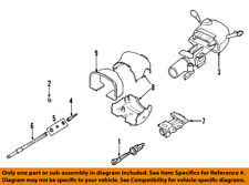 Cadillac GM OEM 01-04 Seville-Steering Column 26087313