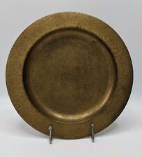 Antique Tiffany Studios New York Gold Bronze Dore Art Plate #1749 Marked