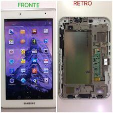 Samsung P-3110 Lcd Completo, Touchscreen E Frame Originale Bianco