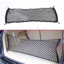 Double Mesh Car Rear Trunk Cargo Increase Storage Elastic String Hook Net Pocket