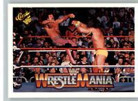 1990 Classic WWF WWE History of Wrestlemania #104 Rick Rude Ultimate Warrior