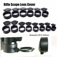 Rifle Scope Flip Up Cap Objective Lense Lid Lens Cover Quick Spring Protection
