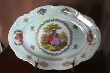 VINTAGE COLLECTABLE LARGE LUSTRE DISH   BAVARIA  GERMANY