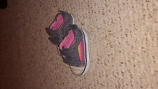 2 Pair Baby Girl Shoes Size 2