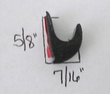 RV Vinyl Gutter Reduce Streaks Black Plastic 3M Peel Stick Truck Window Boat 5/8