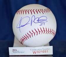 Jhonny Peralta Jsa Hand Signed Major League Autograph Baseball Authentic