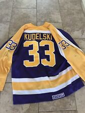 la kings game worn jersey #33 Kudelski