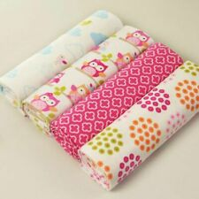 Baby Crib Sheets Cotton Swaddle Nursery Bedding Sheet Toddler Blankets