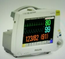Philips Intellivue Mp30 M8002a Bedside Vital Signs Patient Portable Monitor