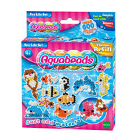 79138 Aquabeads Sea Life Refill Set 600 Beads for Girls Age 4 Years+