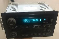 02-04 Chevy Trailblazer GMC Impala Cavalier Radio AMFMCD  UNLOCKED OEM 10318434