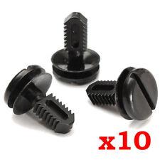 10x Dash Cover Boot Lining Trim Clips For BMW 3-Series E30 E36 E46 E60 Plastic