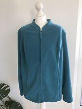 TU 🦋 Turquoise Fleec Jacket Size 22