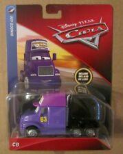 Disney Pixar Cars DELUXE CB ~ Transberry Juice #63 ~ Dinoco 400 ~ NIP