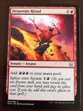 Magic the Gathering DESPERATE RITUAL MTG Duel Deck Mind vs. Might  many avail
