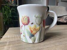 New ListingHallmark Nature's Sketchbook Coffee Mug Marjolein Bastin Flowers Tulips Bees