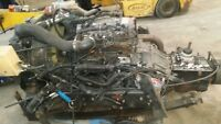 !!CUMMINS 4BT 3.9 TURBO DIESEL ENGINE Common Rail with Eaton 5 speed Frame cut