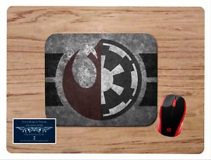 JEDI SITH LOGO INSPIRED CUSTOM MOUSE PAD HOME SCHOOL OFFICE GIFT STAR WARS