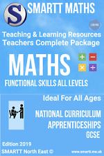 Functional Skills Maths & English Teaching & Learning Resources Complete Package