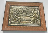 The Last Supper Relief Sculpture Spain 1969 Collectible Christian Art Jesus
