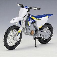 HUSQVARNA FC 450 1:18 DieCast Motocross MX Toy Model Dirt Bike NEW MAISTO