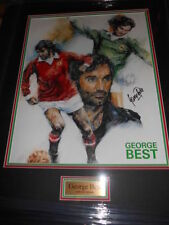 Retired Players Surname Initial B Signed Football Prints