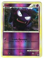 Pokemon TCG HS Triumphant, Gastly 63/102 Common, NM Reverse Holo