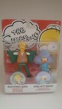 The Simpsons figurine set - Montgomery Burns and 'Selma Patty' Maggie