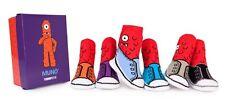 New Trumpette YO GABBA GABBA Non-skid Socks 6 pairs 0-12 months MUNO cute  gift