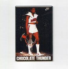DARRYL DAWKINS - CHOCOLATE THUNDER MINI POSTER FRIDGE MAGNET (nike 1991 sixers)