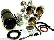 Maximus III QUAD Train Horn Kit 175+ Db!! Comes with air compressor and tank!!