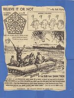 News Clipping Ripley's Believe it or Not 1945 Chinese Window of Five Blessings