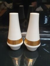 Mikasa Harrow A1-129 Ivory And Gold Salt and Pepper