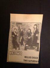 K3-3 Ephemera 1974 Picture Thanet Millies Disco Pop Group Hector
