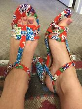 Anthropologie Adorable Floral Seychelles Worn Once 7