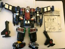 Power Rangers SPD SWAT  megazord + guns+ instructions very rare toy