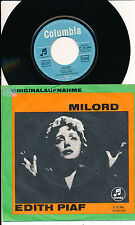 "EDITH PIAF 45 TOURS 7"" GERMANY MILORD (DE GEORGES MOUSTAKI)"