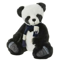 Charlie Bears 15 Inch Piran Super Soft Black & White Panda from US Stockist