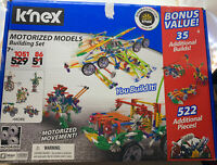 K'NEX Motorized Models Building Set 1051PC 86 Builds