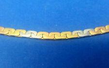 Tricolour-Armband Gold 750 / 18 K, 19,5 cm, 13 g,  tricolor bracelet
