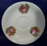 """Miniature Saucer , 4"""" plate- made in China couple courting"""