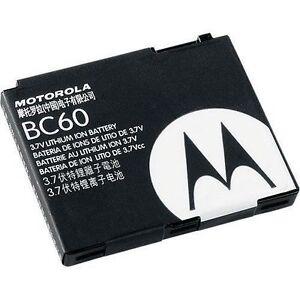 Battery BC60 For Motorola C257 C261 VU204 Z6C I290 I296 I425 L2 L6 L7 L7c 850mAh