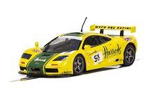 Scalextric McLaren F1 GTR LeMans 1995, Harrods 1:32 scale slot car C4026