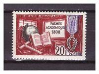 S24591) France 1959 MNH New Academic Palms 1v